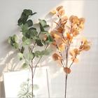Artificial Decorative Eucalyptus Foliage Single Flower Stem Wedding Home Decor
