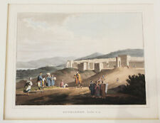 More details for  antique aquatint print bethlehem luke 2.4  after luigi mayer sir robert ainslie