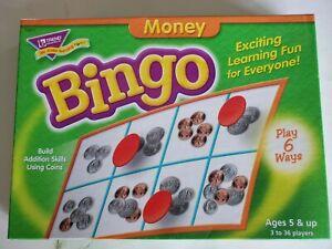 2002 Trend Enterprises Money Bingo complete in box