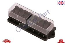 Fuse Box 8 Way for Standard Blade Fuses ATO Holder / Block Base Entry