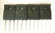 Harris 20N60C3R, IGBT 40 Amp, 4 pieces, NEW
