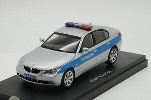 Mega RARE !! BMW 5er Police Milicya Russian Kyosho Custom Made 1/43