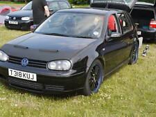 VW Golf MK4 1997-2004 noir bonnet soutien-gorge GTI R32 TDI