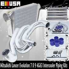 02-07 Mitsubishi Lancer EVO 7 8 9 Piping Kits + Intercooler