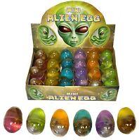 Mini Gooey Aliens Eggs & Baby Party Loot Bag Xmas Stocking Filler Toys N14 018