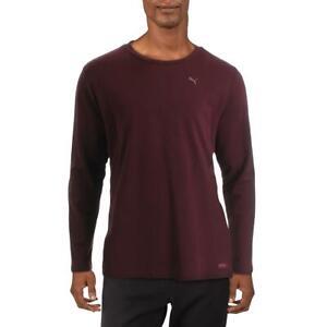 Puma Mens Purple Fitness Running Activewear T-Shirt XL  9396