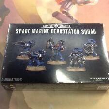 40K Warhammer Space Marines Devastator Squad Box New Sealed
