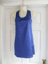 size 6 royal blue cobalt womens dress mini Summer Evening Party Ladies Work