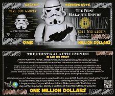 Lot of 25 StormTrooper Million Dollar Bill Fun Money Gospel Tract Novelty Notes