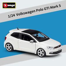 BBURAGO 1:24 VW VOLKSWAGEN POLO GTI MARK 5 CAR DIECAST MODEL COLLECTIONS IN BOX