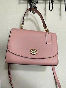 Coach Tilley Top Handle Bag in Light Pink