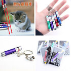 2In1 Pet Play Funny Cat Toy LED Light Laser Pointer Pen With Bright Pet Training