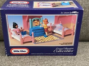 New Little Tikes Dollhouse Grand Mansion Children Bedroom Bunk  Bed