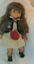 Adorable Zapf Exclusive Collette Collection Girl Doll Brunette 1980's