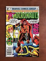 Micronauts #34 (1981) 9.2 NM Marvel Key Issue Bronze Age Comic Book High Grade