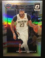 2017-18 Panini Optic Anthony Davis # 91 Silver Holo Prizm Lakers