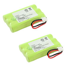 2 NEW Cordless Home Phone Rechargeable Battery for SANIK 3SN54AAA80HSJ1 23025