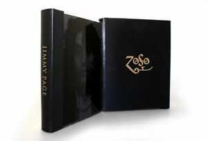Jimmy Page Led Zeppelin Signed by Jimmy Genesis Publications Book ZOSO