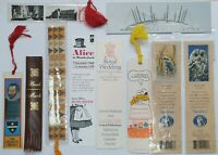 10 x Vintage Collectable Assortment of Bookmarks Souvenirs - (B62)