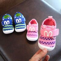 Infant Kids Baby Boy Girl Squeaky Single Shoes Soft Sneakers Trainers Prewalker