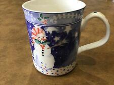 EPOCH NORITAKE Mug /Coffee Cup MR SNOWMAN CHRISTMAS