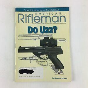 June 2002 American Rifleman Magazines Do U22 ? Special Handgun Sports Issue