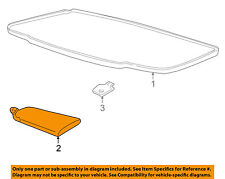 Chevrolet GM OEM 01-04 Corvette Interior-Roof-Sunshade Left 10334052