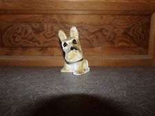 Old Vintage Carnival Chalk Ware Scottie Dog