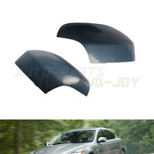 L & R Exterior Door Side Primed Rear View Mirror Cover For VOLVO XC70 2007-2016