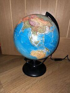 Illuminated Globe - Orion 25cm Tecnodidattica - Vintage