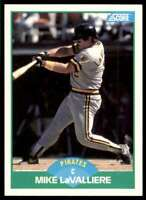 1989 Score Mike LaValliere #33