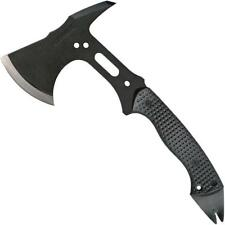"SCHRADE 13"" Tactical Hatchet AXE Black SK5 Steel w/ Nail Pull & Pry Bar AXE5"