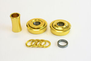 Old school BMX Bottom Bracket Sealed USA size Gold Redline Profile