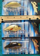 SALMO 2 1//2 Pop6 Floating Topwater Popper P6F-SMS in SIL//MET//SH for Bass//Pike