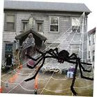 Outdoor Halloween Decorations - Scary Spider Decorations Set Comes with 50