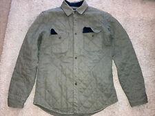 J Crew Quilted Cotton Shirt Jacket, Men's M