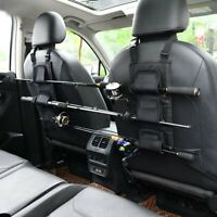 Fishing Rod Holder Rest Car Carrier For Vehicle Backseat 3 Poles Tackle Tool