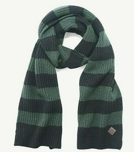 Cole Haan Colorblock Ribstitch Muffler/Scarf