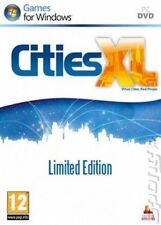 Cities XL LIMITED EDITION GIOCO PC * Nuovo * & * OVP *