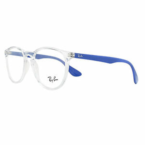 Ray-Ban Eyeglasses Frames 7046 Erika 5734 Transparent with Blue 51mm Womens