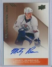 2013-14 Upper Deck Oiler Collection Franchise Ink AUTO Marty Reasoner