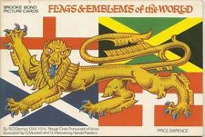 UK Issue Collectable Tea Cards Flags