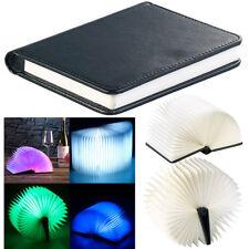Buchlampe: Klappbare LED-Stimmungsleuchte im Buch-Design, 5 Farben, 0,2 Watt