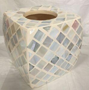 Brand New porcelain ceramic Resin square Mosaic tissue cover soft multi color