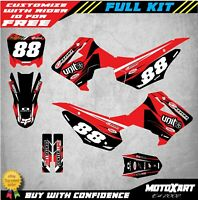 Custom Graphics, Full Kit For Honda CRF 110 2013 - 2018 DIGGER STYLE Stickers