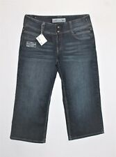 JUST JEANS Designer Blue Crop Jeans Size 11 BNWT #TA57