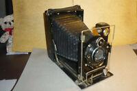 Balgen - Laufboden - Platten Kamera Rulex mit Ludwig Lausa Dessinar 4,5/13,5cm !