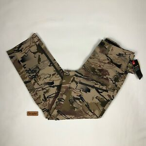 Under Armour Ridge Reaper Raider Barren Camo Hunting Pants 1316961 Size 32 X 30