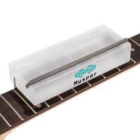 Lime de biseautage de frettes de guitare en acrylique pour le dressage des
