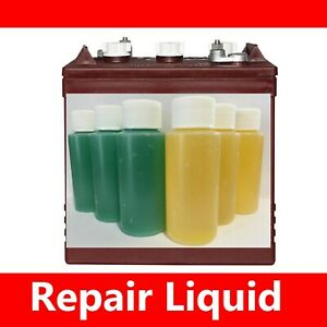 Fix Your! Trojan T-105 6 Volt Golf Cart Battery Marine Deep Cycle Repair Liquid